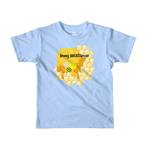 Busy BEEliever Kids Shirt