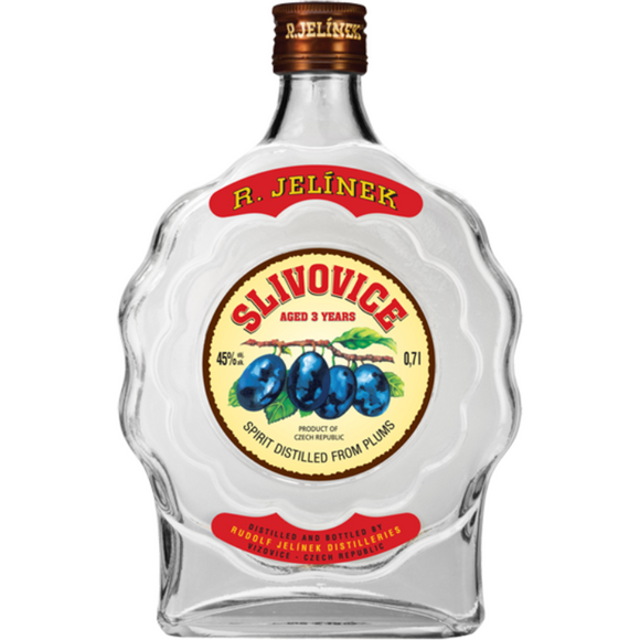 Jelinek Slivovitz White  3 YO 700ml 45%