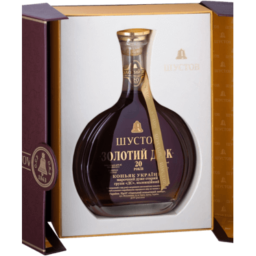 Shustov 20 YO Grand Duke Brandy 700ml 40%