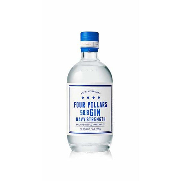 Four Pillars Navy Strength 58% 500ml