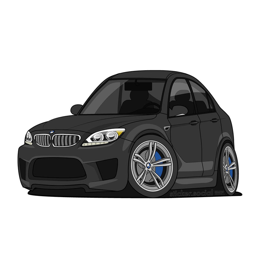 BMW M6 Slap Sticker