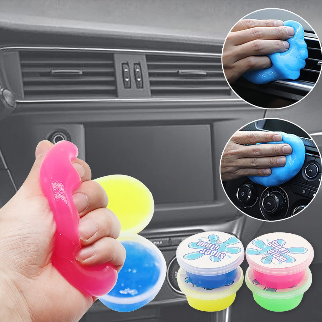 Magic Soft Sticky Clean Glue Slime Dust Dirt Cleaner