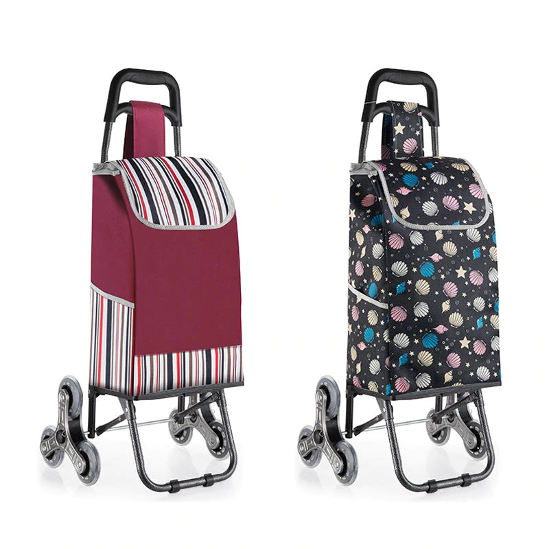 Woman trolley Shopping Cart