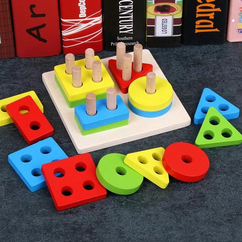 Image of Baby Geometric Sorting Board