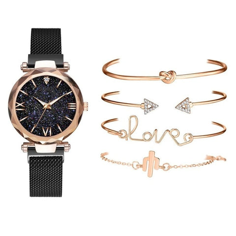 Starry Sky Quartz Ladies Watch