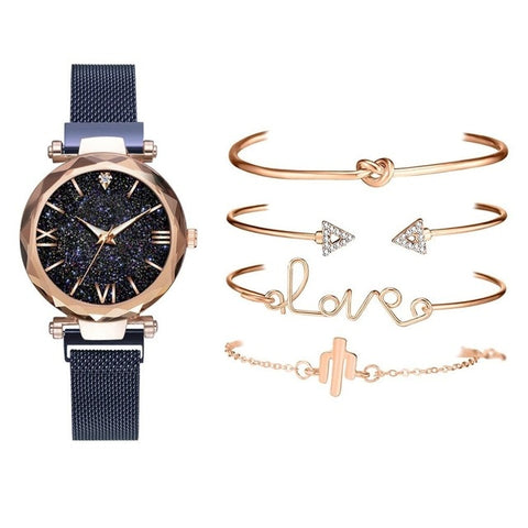 Image of Starry Sky Quartz Ladies Watch