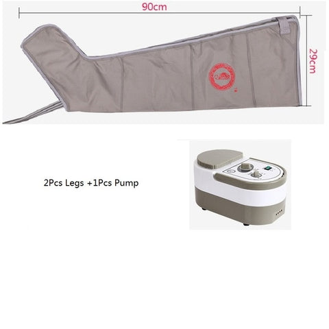 Air Wave Pressure Pressotherapy Massage Compression Circulator Leg Arm Waist - Lymphatic Drainage Device For Muscles Relax