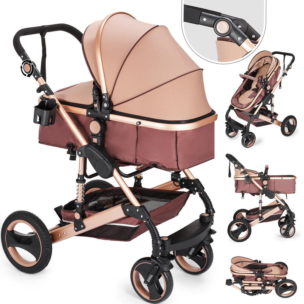 Luxury stroller ALU 2in1 baby car seat baby bath sports seat baby