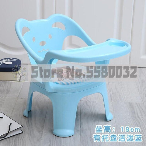 Image of Children Dining Chair Eating Plate Seat Baby Small Bench Called Chair Cartoon Chair Plastic Stool