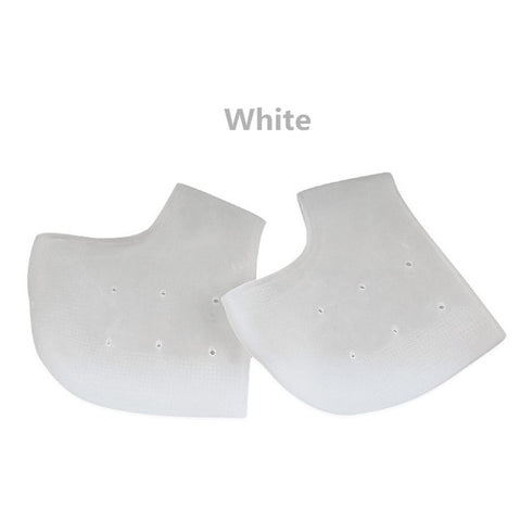 Image of 2 pieces Heel Protector Protective Sleeve Heel Spur Pads for Relief Plantar Fasciitis Heel Pain Reduce Pressure on Heel
