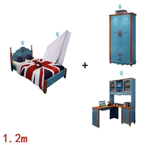Image of Letto Yatak Odasi Mobilya Hochbett Baby Nest Ranza Bedroom Furniture Cama Infantil Muebles De Dormitorio Wooden Children Bed