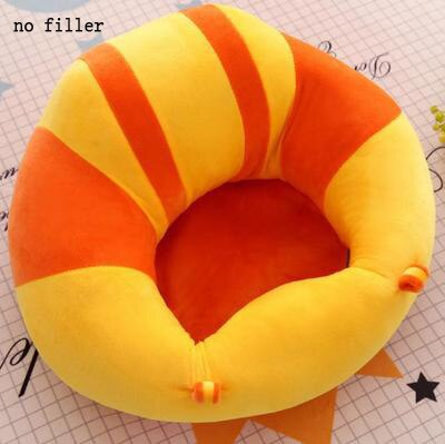 Image of Child Baby Seats Sofa Support Seat Cover Plush Baby Chair Learning To Sit Feeding Chair Cover Soft Plush Toy,Without filler!