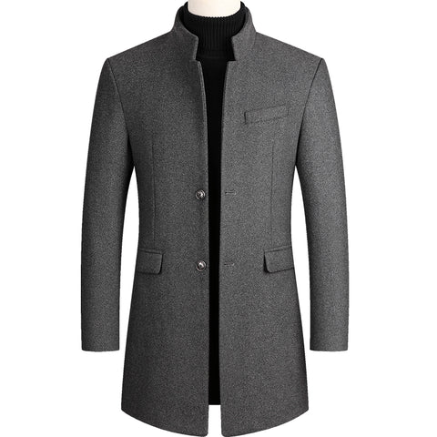 Image of Men Coat Winter,Mens Peacoat,Mens Cashmere,Men Wool Coat,Wool Coat Men,Men Woolen Overcoat,Mens Coat,Winter Wool Coat Men