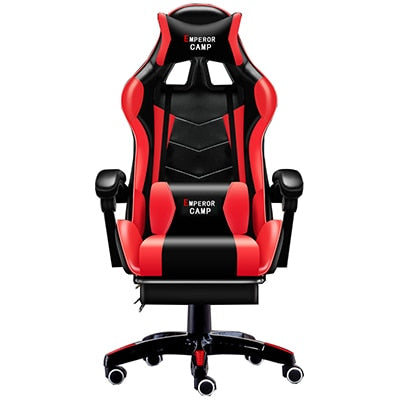 Image of Professional Computer Chair LOL Internet Cafes Sports Racing Chair WCG Play Gaming Chair Office Chair