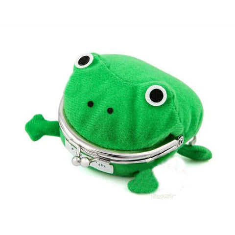 Image of Hokage Ninjia Naruto Frog Coin Purse Cosplay Props Frog Wallet Anime Cartoon Manga Flannel Coin holder Cute Animal