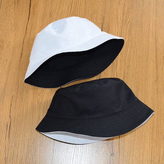 Summer Daisies Bucket Hat men women Fashion cotton reversible Bob Femme Caps Panama sad boys fold Sun fishing fisherman hat