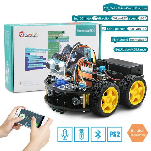 Image of Robot 4WD Remote Car