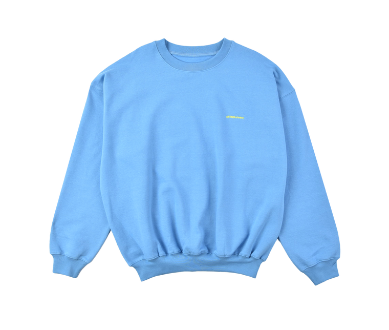 A (FRND) of Mine Sweatshirt Light Blue