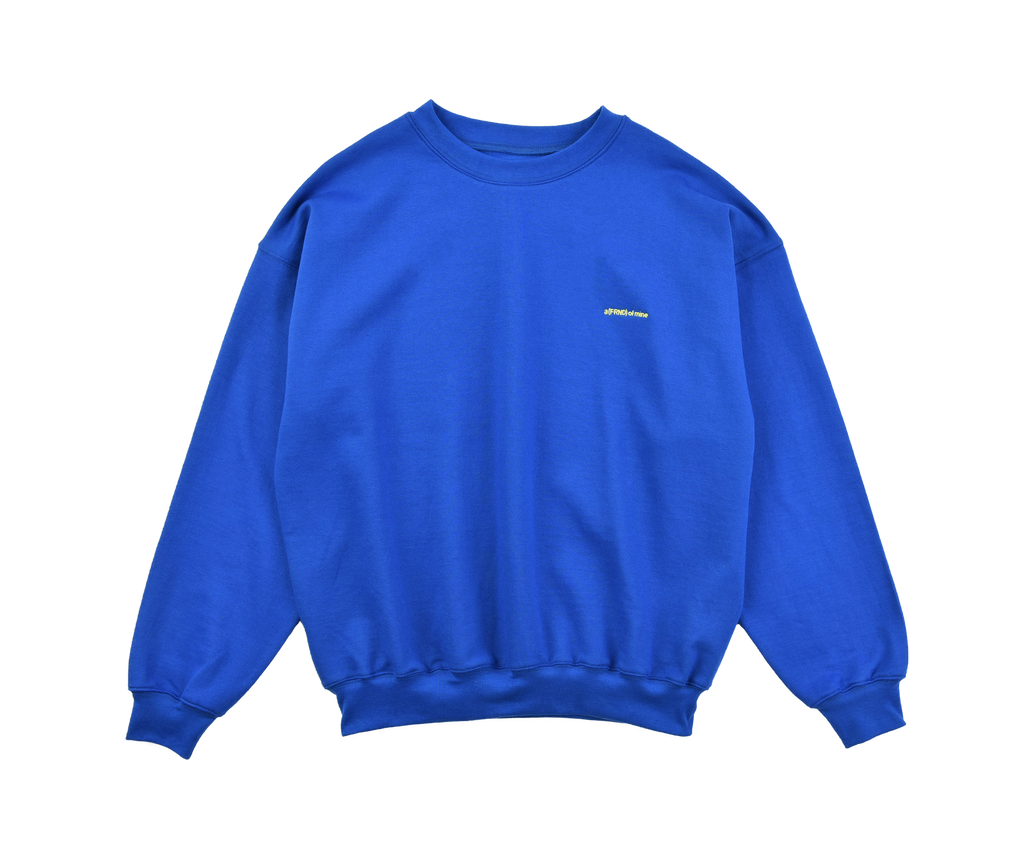 A (FRND) of Mine Sweatshirt Blue