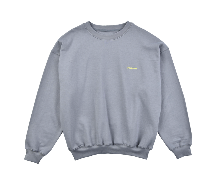 A (FRND) of Mine Sweatshirt Grey