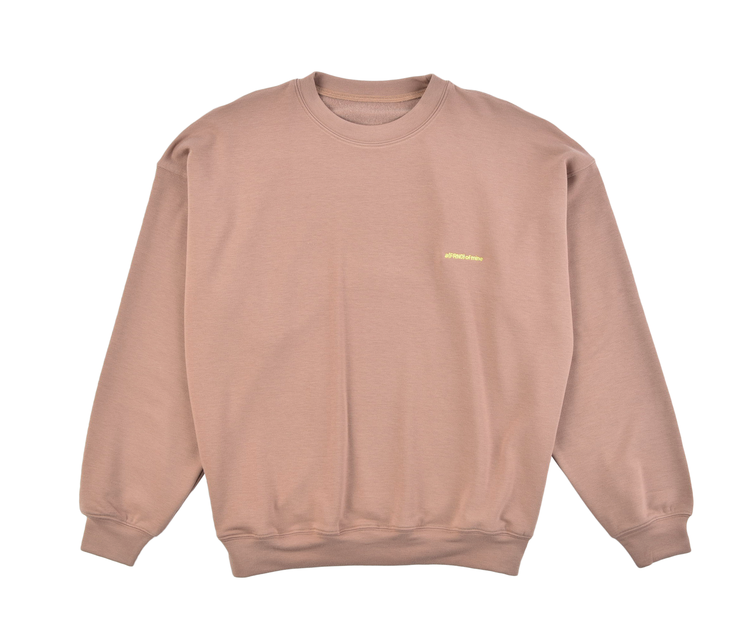 A (FRND) of Mine Lightweight Sweatshirt Nude