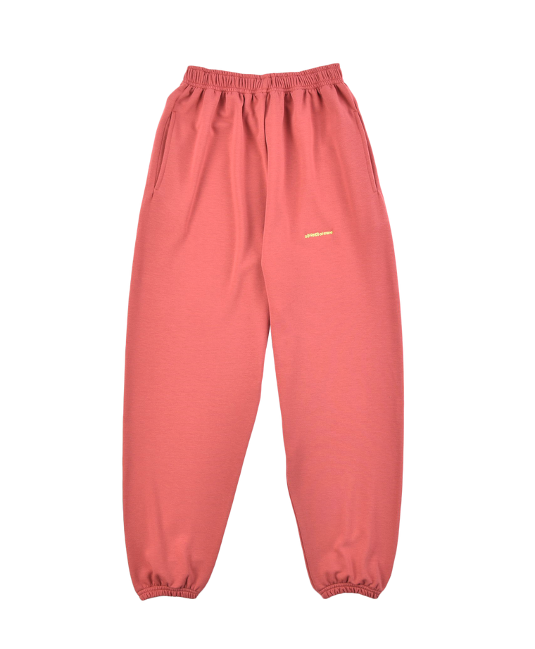 A (FRND) of Mine Lightweight Sweatpants Dusty Red