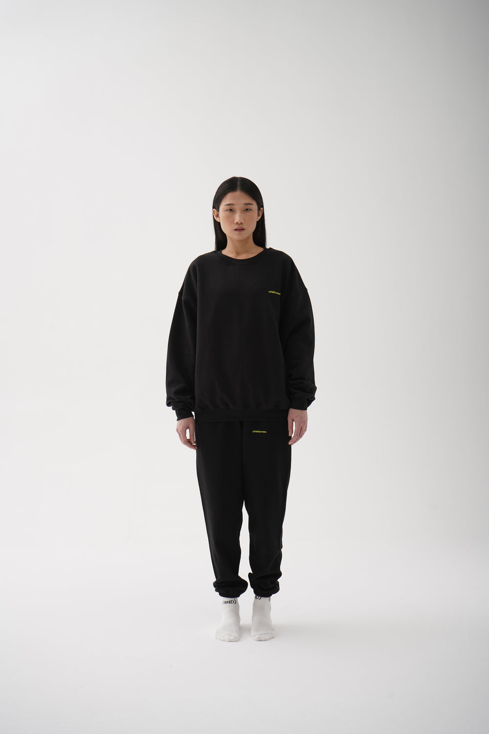 A (FRND) of Mine Sweatpants Black