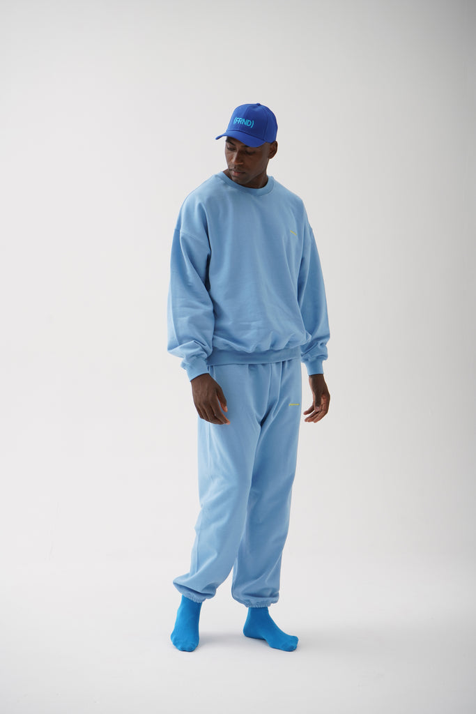 A (FRND) of Mine Sweatpants Light Blue