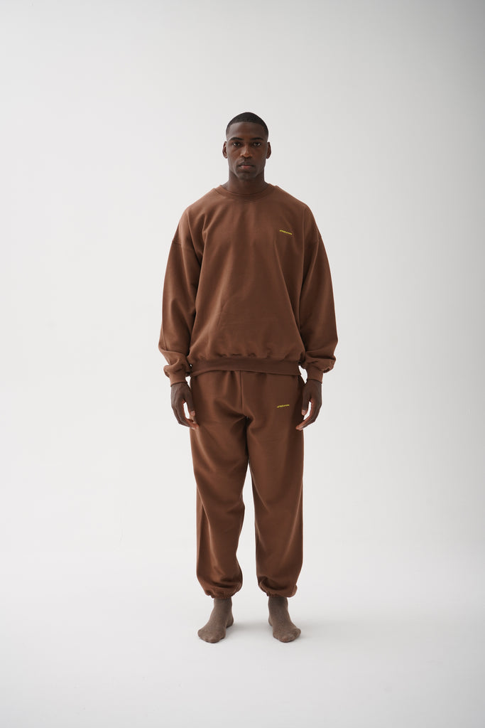 A (FRND) of Mine Sweatpants Brown
