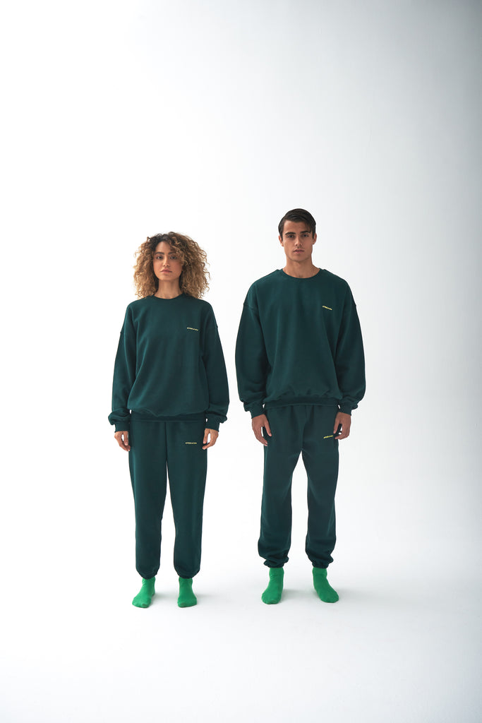A (FRND) of Mine Sweatshirt Dark Green