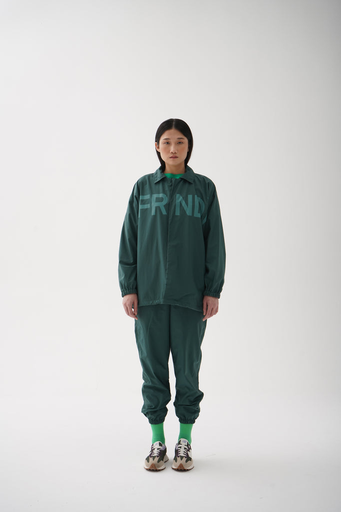 Tracksuit Jacket Green