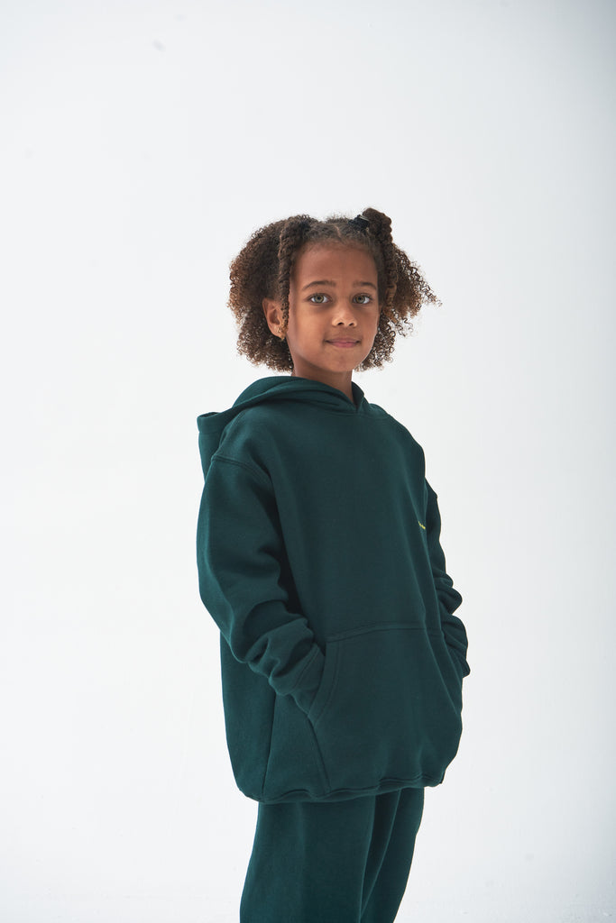 A (FRND) of Mine Kids Set Dark Green