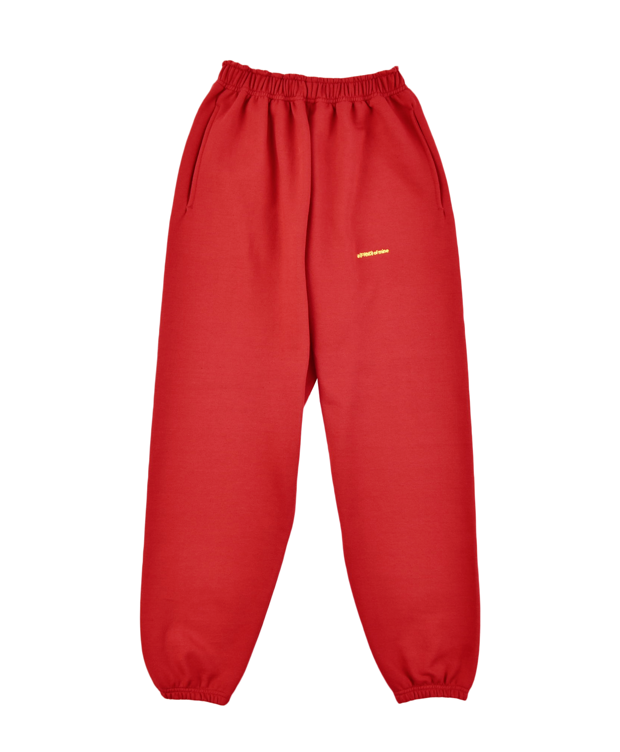 A (FRND) of Mine Sweatpants Red