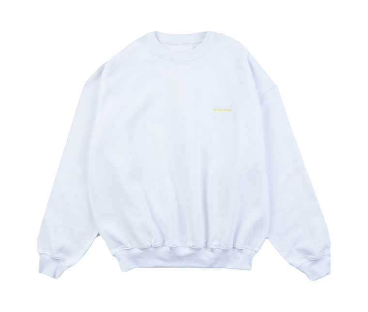A (FRND) of Mine Sweatshirt White
