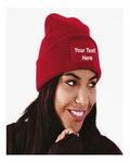 Unisex Personalised Beanie Hat