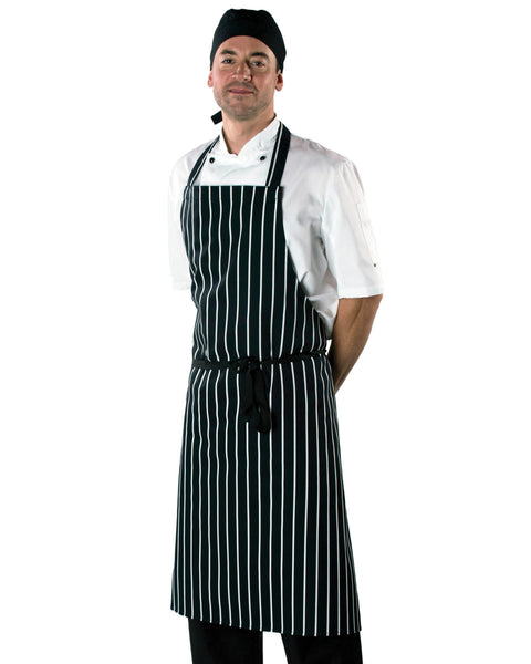 Dennys Cotton Striped Apron
