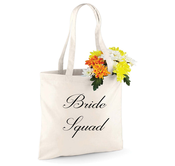 Wedding  Personalised Tote bag