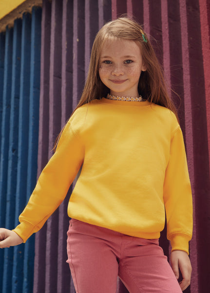 Children's Classic Set-In Sleeve Sweatshirt