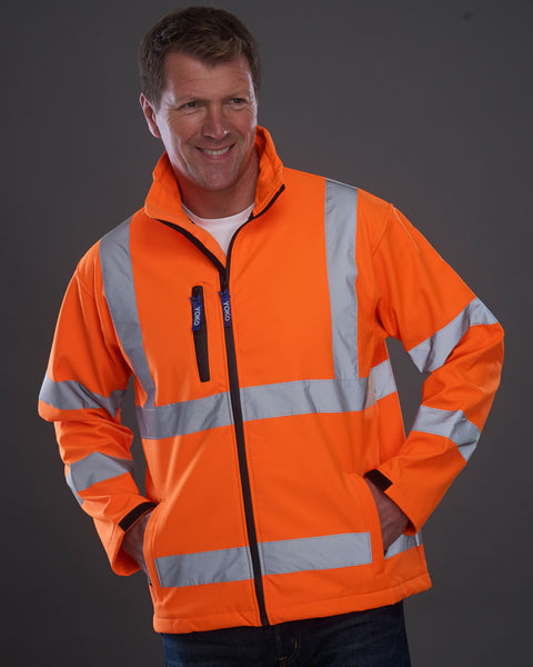 HVK09 Hi-Vis Softshell Jacket