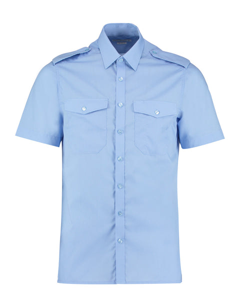 KK133 Men's Short Sleeved Pilot Shirt