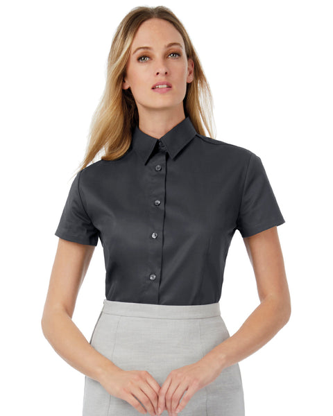 SWT84 Women's Sharp Short Sleeve Shirt