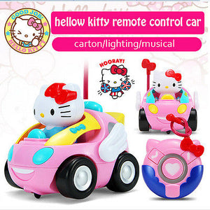 rc cars hello kitty remote control car kids gift