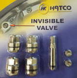 Invisible Wheel Valves set of 4 - Get that clean look !