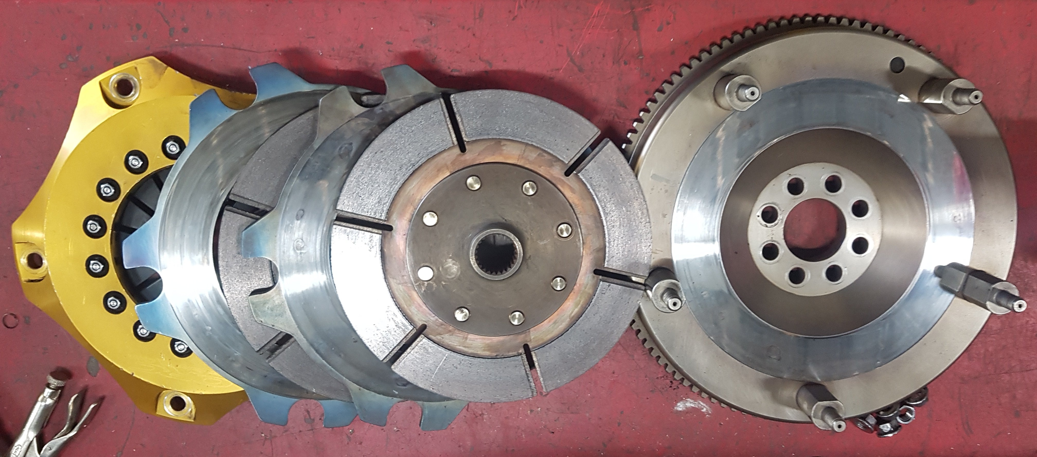 ORC Twin Plate Clutch to suit SR20 engines with 5 Speed Gearbox