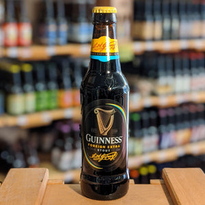 Bière Guinness Foreign Extra - Brasserie Saint James's Gate