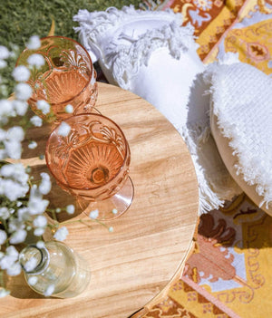 Rose Acrylic Goblet - Wilder The Label