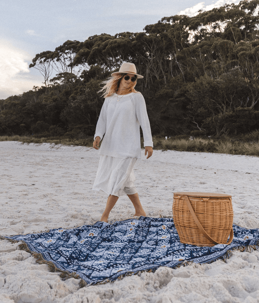 "Load image into Gallery viewer, The ""Casa"" Blanket, Extra Large Picnic Rug"