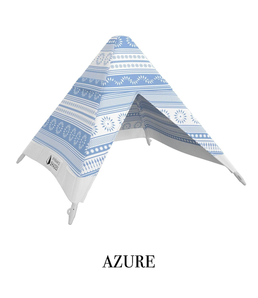 Azure Blue Pyramid Shades