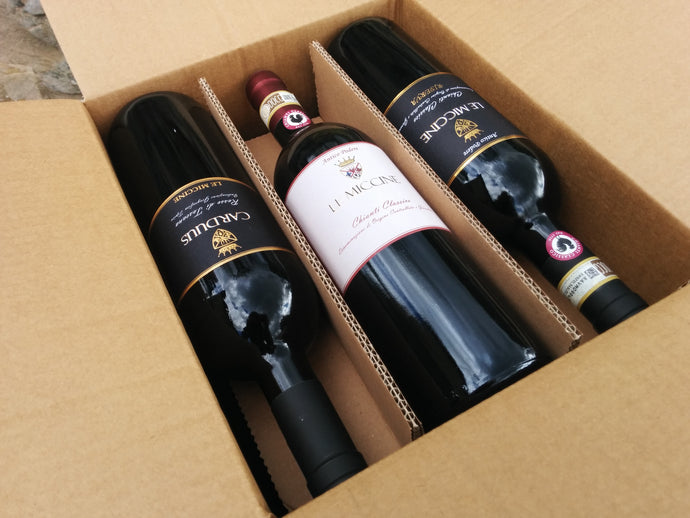 Le Miccine Mixed Case of 6 bottles of Red Wines