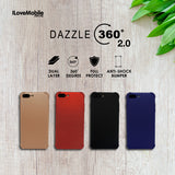 Dazzle 360 2.0 Series Case for iPhone 6/7 and Samsung S8/S8+